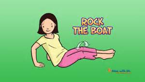 rock the boat upset video help kids release stress and relax movement and