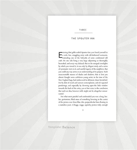 formatting from manuscript to a print book with ms word