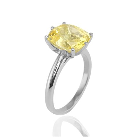 yellow sapphire band ring more information wypadki24 info