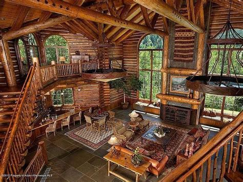 cool log cabins log cabin cool houses pinterest