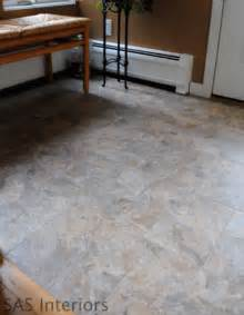 did you know that you can grout peel and stick vinyl tiles to look just like ceramic tile i had