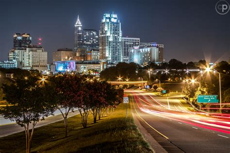 downtown raleigh nc skyline at night www cosmo