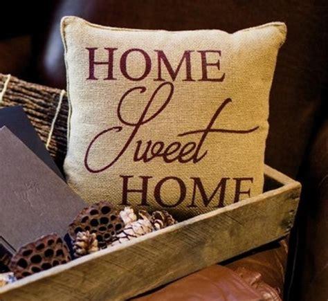 sweet home best pillow home sweet home soft burlap pillow