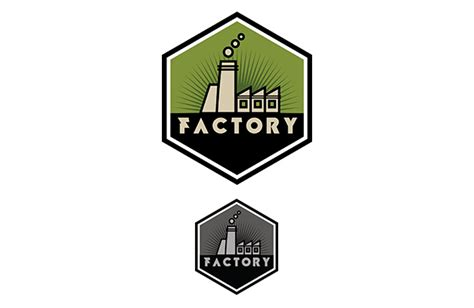 factory logo template vandelay design