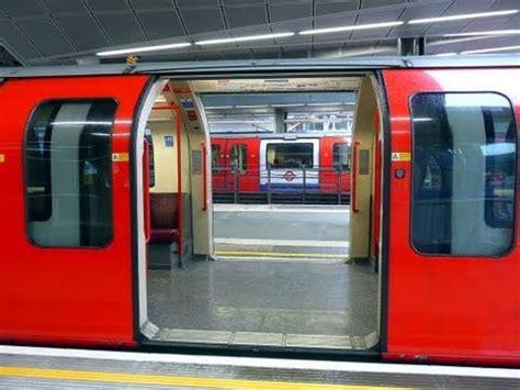 Metro Opens Doors Next by Central Line Doors Open Both Sides