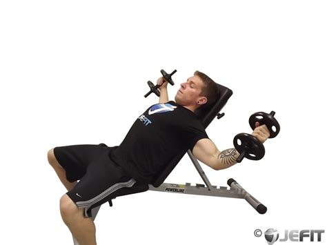 incline bench fly dumbbell incline fly with a twist exercise database