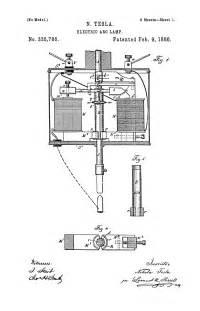 Nikola Tesla Electric Car Patent Nikola Tesla U S Patent 335 786 Electric Arc L