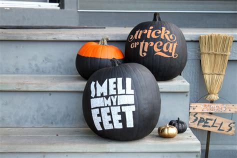 chalkboard paint pumpkin swissmiss chalkboard pumpkins