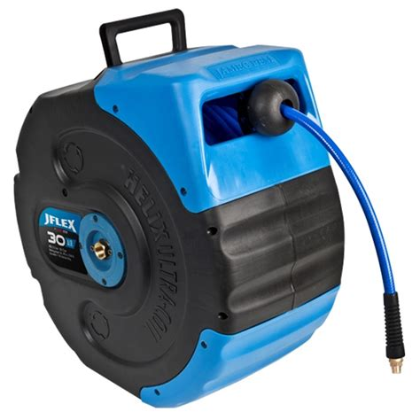 reel untuk sosis p 30m jflex 30m retractable hose reel bunnings warehouse