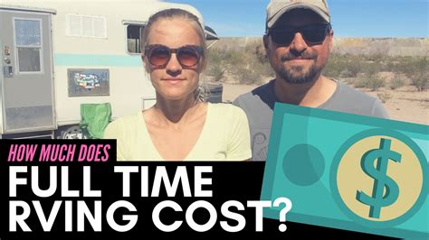how much does a full how much does time rv living cost adventure 4wd