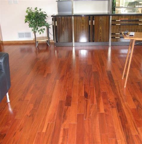 brazilian tiger teak curupay solid prefinished hardwood wood floor flooring real wood floors