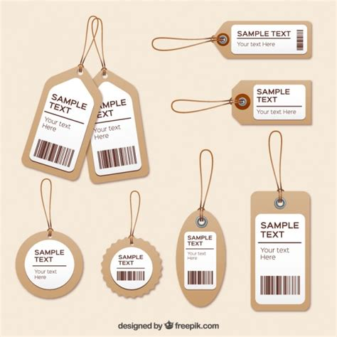 Style For Style No More Visible Price Tags by Clothing Tags Vector Premium