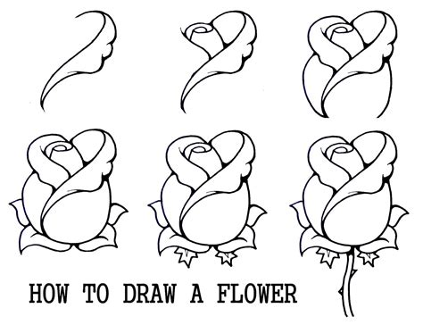 drawing made easy flowers draw flowers daryl hobson artwork how to draw a flower step by step draw flowers