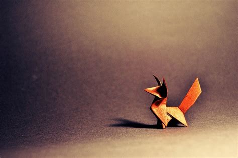 Why Do Do Origami - origami fox once upon a fold