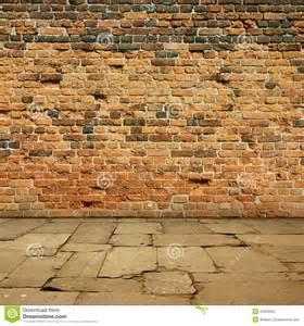 Brick Paving Slabs Brick Wall Stock Images Image 33352004