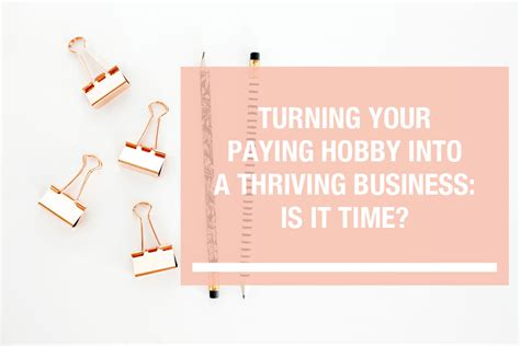 turn your into a thriving business how to start a business that will crush it a rookie entrepreneur start up guide books turning your hobby into a business