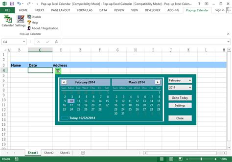 format excel vba access excel vba datepicker format date picker in excel