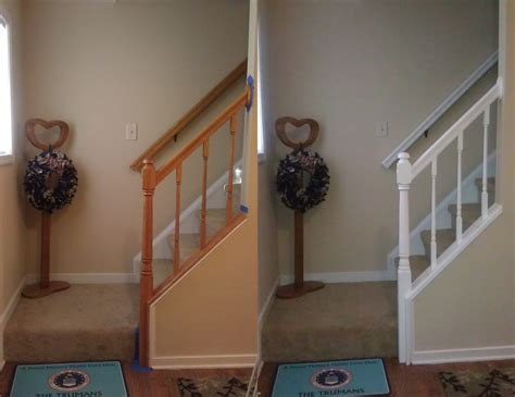 how to paint banister 25 best images about floor and wood trim ideas on