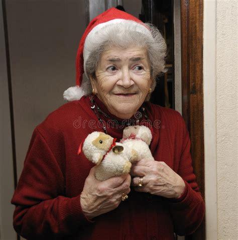 christmas elderly senior at royalty free stock photo image 17131575