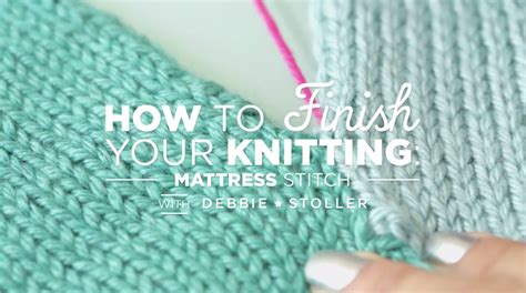 mattress knitting stitch 301 moved permanently