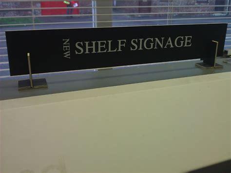 Shelf Signage value library signage from thirsk news