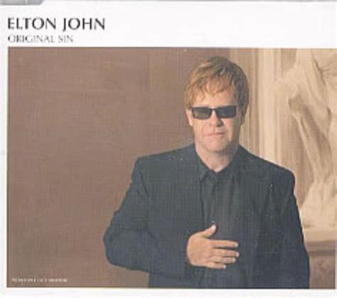 elton john original sin elton john original sin uk promo cd single cd5 5 quot 210027
