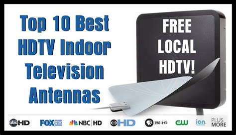 hdtv antenna and cable together top 10 best hdtv indoor television antennas