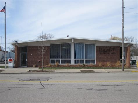 Whitewater Post Office by Amberg Wisconsin Post Office Post Office Freak