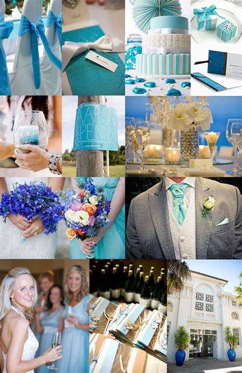 sea blue wedding
