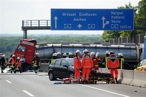 Motorradunfall Buch by Schwerer Unfall Auf Der A4 K 246 Lner Stadt Anzeiger
