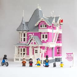 lego ideas product ideas coralines pink palace apartments