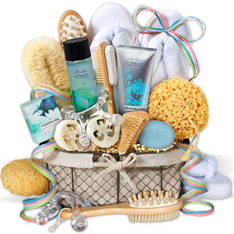 premium spa gift basket by gourmetgiftbaskets