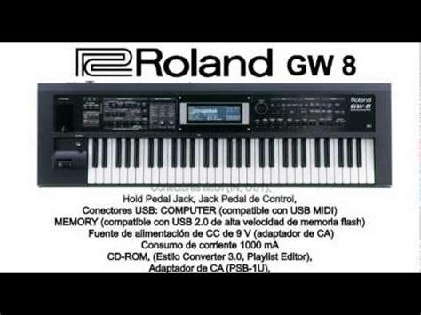 S Gw8 H by Test De Sonido Workstation Roland Gw 8