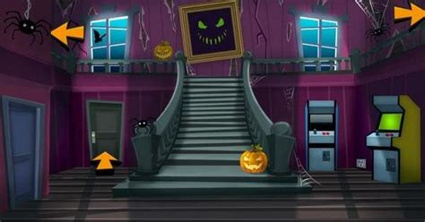 haunted house game brainy s haunted house freegames escape free games pinterest haunted houses