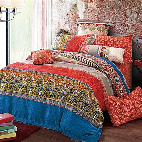 Moroccan Bed Sets Sherry Moroccan Reversible Duvet Cover Set Bed Bath Beyond