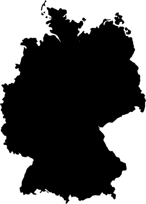 File:Germany-Outline.svg - Wikipedia