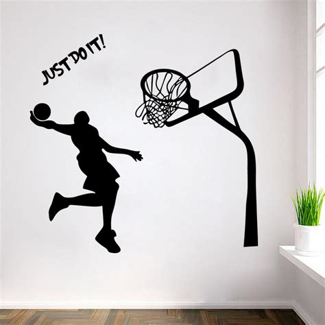 michael wall stickers home decor basketball wall stickers michael poster