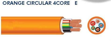 Kawat Tembaga Essex Merah 0 35 o cir orange cicular kabel 4 inti 35mm2 25mm2 16mm2 10mm2