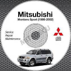 2000 Mitsubishi Montero Sport Owners Manual Mitsubishi Montero Sports Manual Ebay