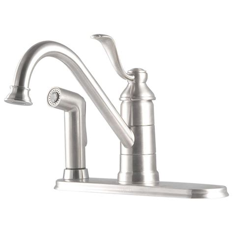 pfister cadenza single handle standard kitchen faucet with pfister portland single handle standard kitchen faucet