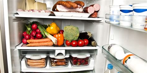 Shelf Of Refrigerated Foods by A Guide For When To Toss All The Food In Your Fridge Huffpost