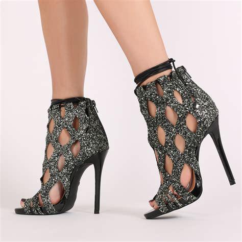 black glitter high heels jacey high heels in black glitter desire