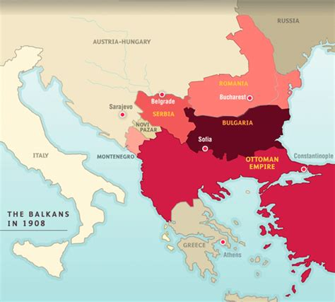 Ottoman Empire 1815 Europe And Nations Since 1815