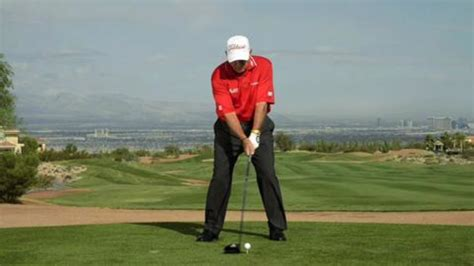 Watch Driving Butch Harmon My Swing Key For Nerves