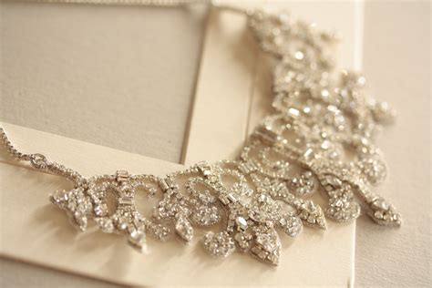 how to make wedding jewelry vintage inspired bridal necklace statement wedding jewelry