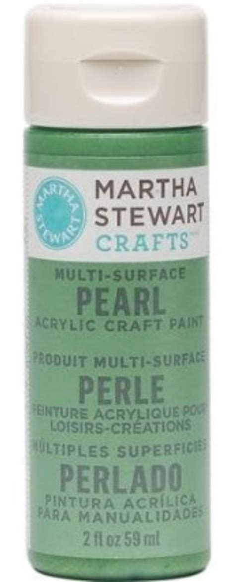 martha stewart acrylic pearl paint craft select your color