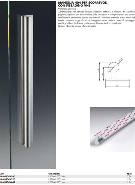 maniglie per porte in vetro maniglia man404v 174 alluminio da appoggio per porte in vetro