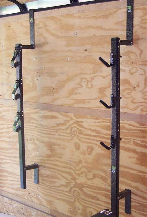 Enclosed Trailer Trimmer Racks by 3 Place Trimmer Rack Enclosed By Pack Em Racks