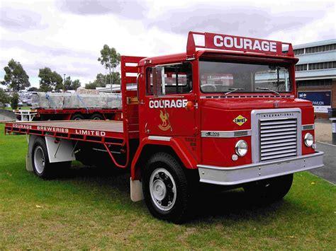 international semi historic trucks melbourne international truck show 2012