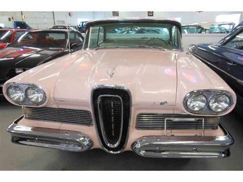 Edsel Ford Car For Sale by 1958 Edsel Corsair For Sale Classiccars Cc 955098